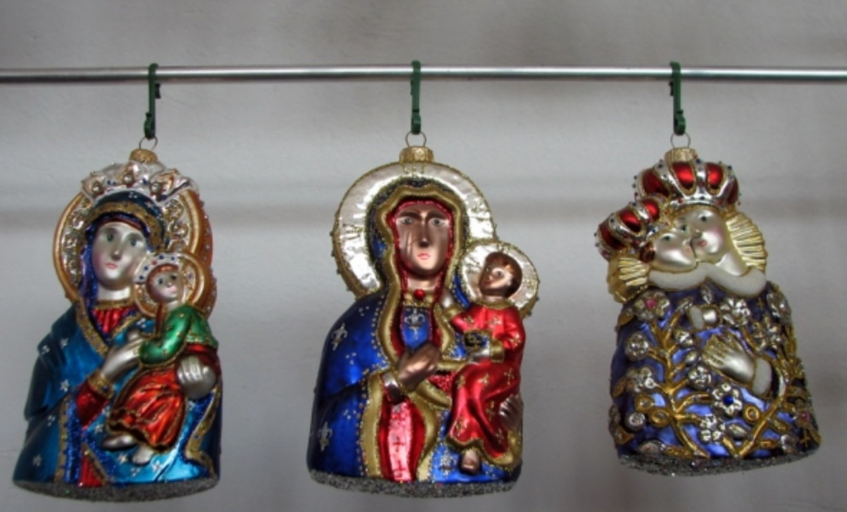 Polish Representations of the Virgin Mary with Christ Child