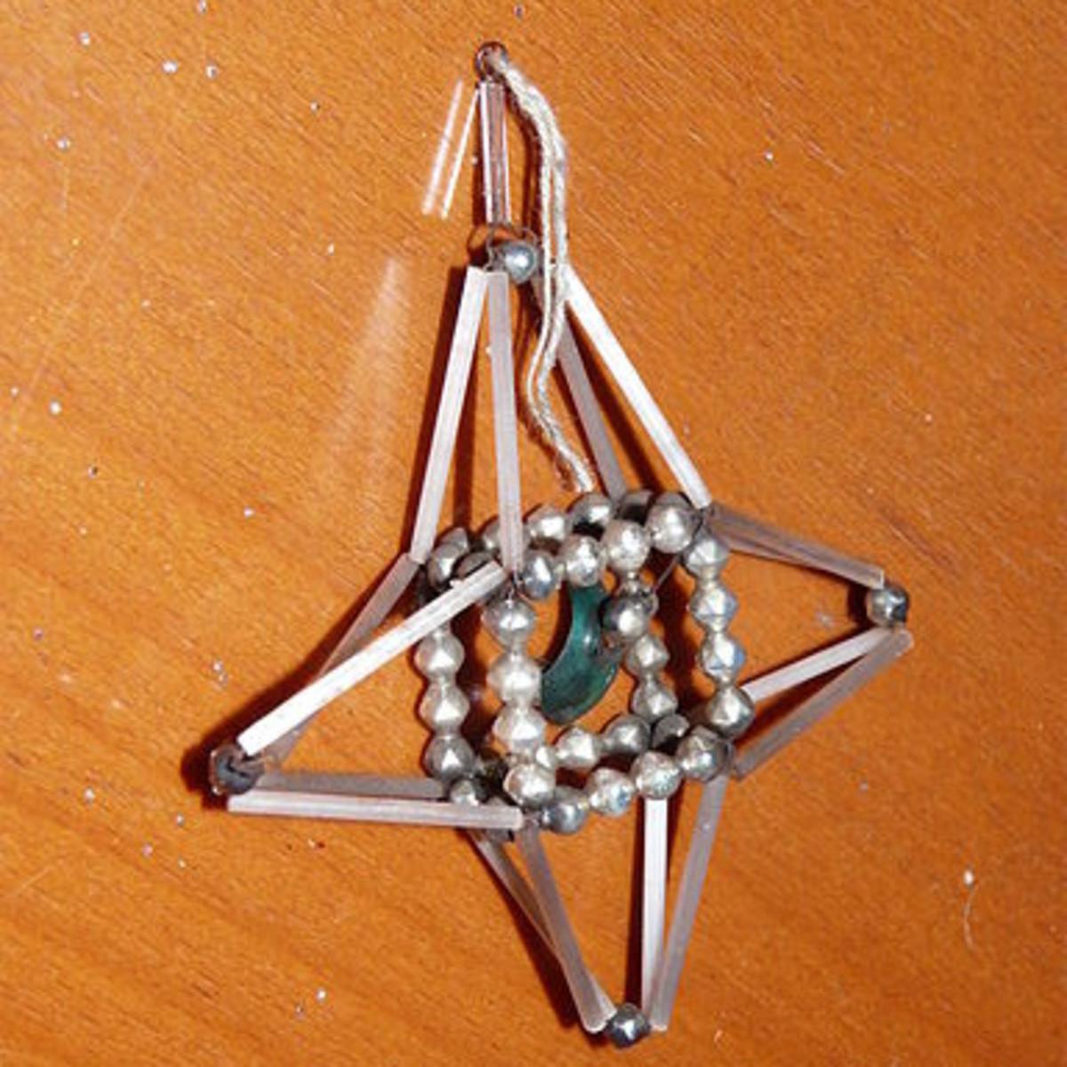 Pre-1939 Polish Christmas Tree Ornament