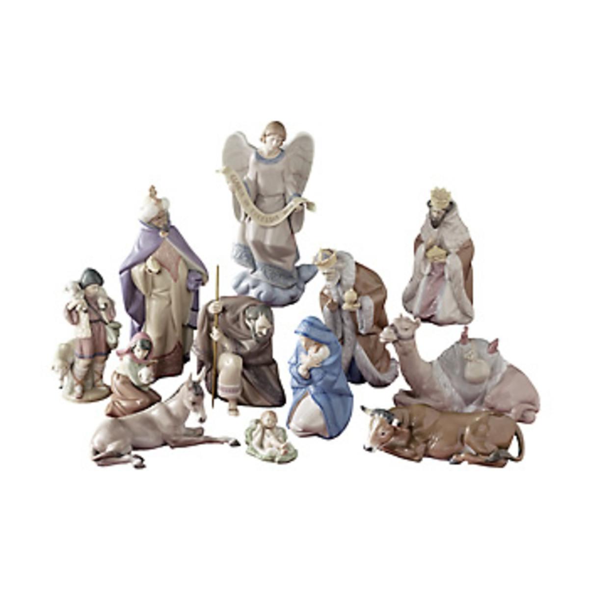 Llardo Nativity Set