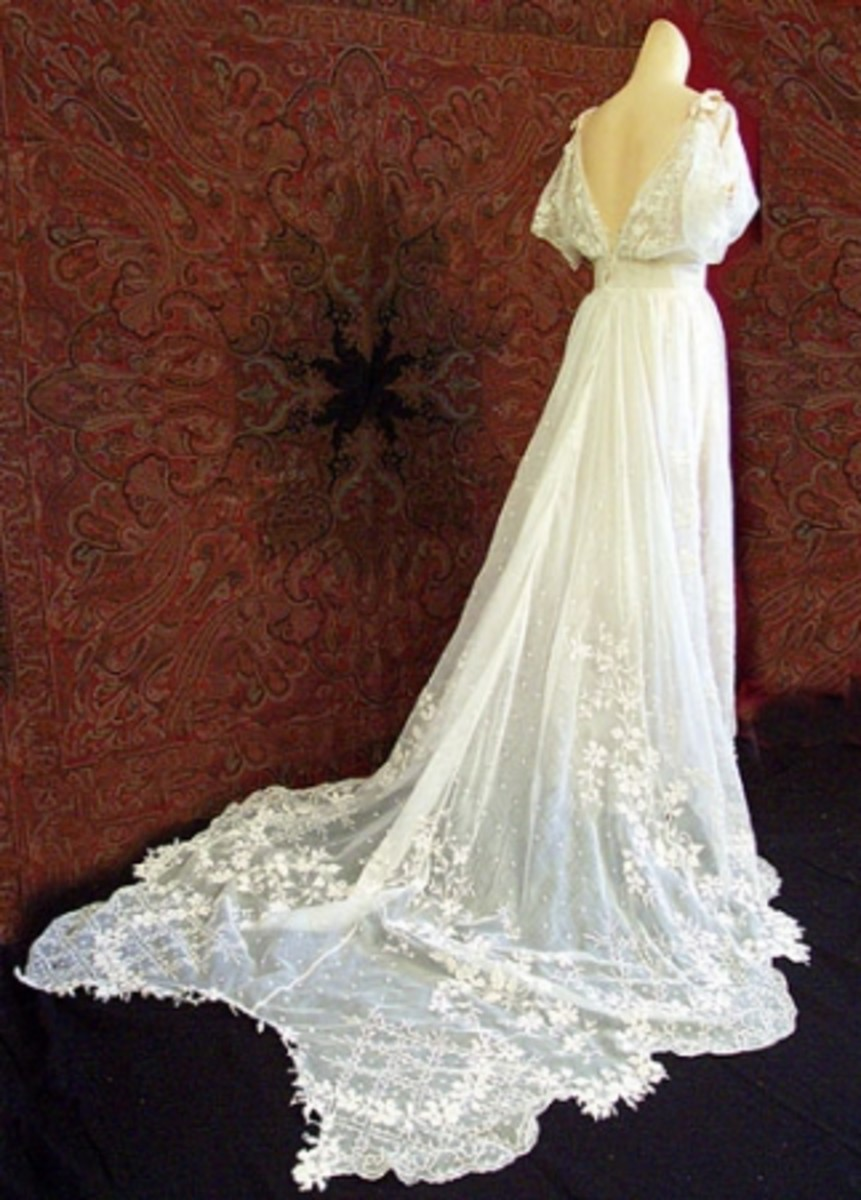 wedding dresses from the 1