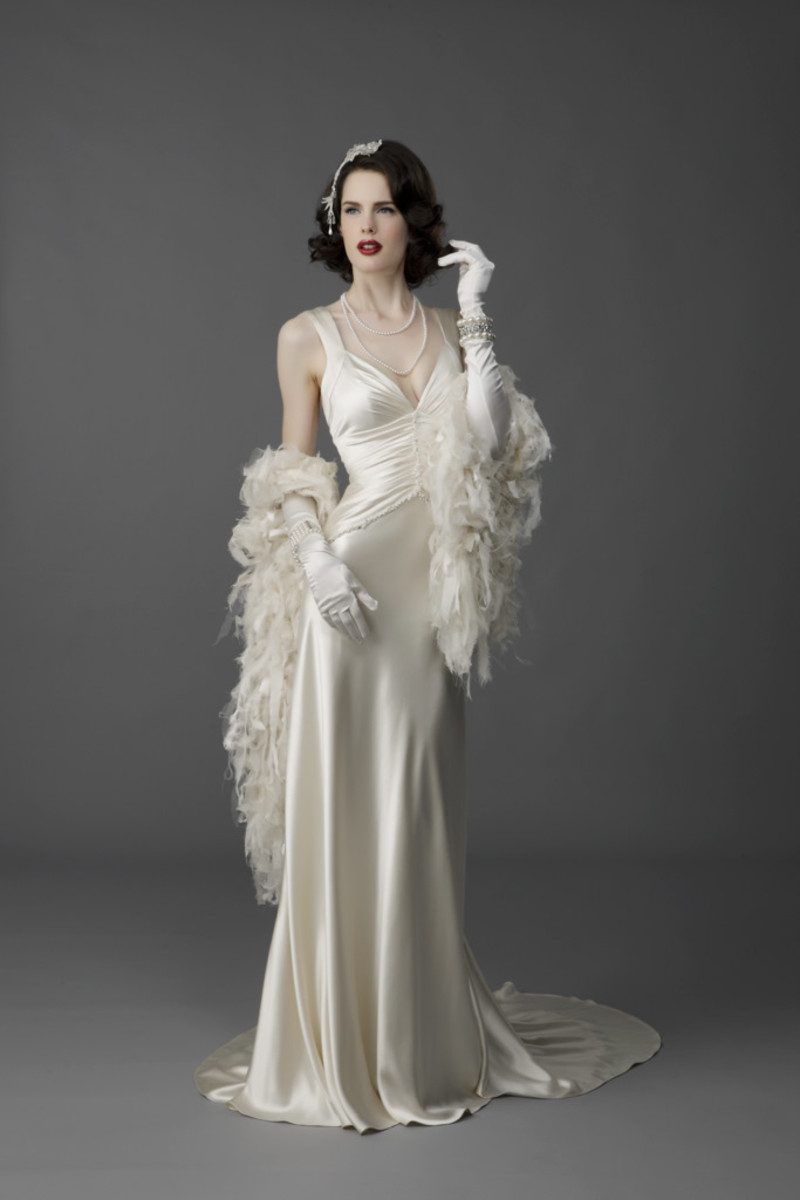The Amazing Vintage Wedding Dress