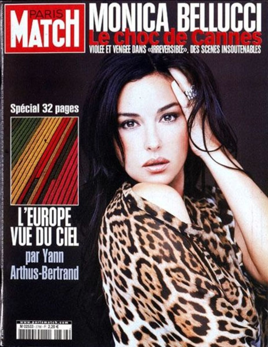 Paris Match Magazine - Photo courtesy of Patrick Peccatte / flickr.