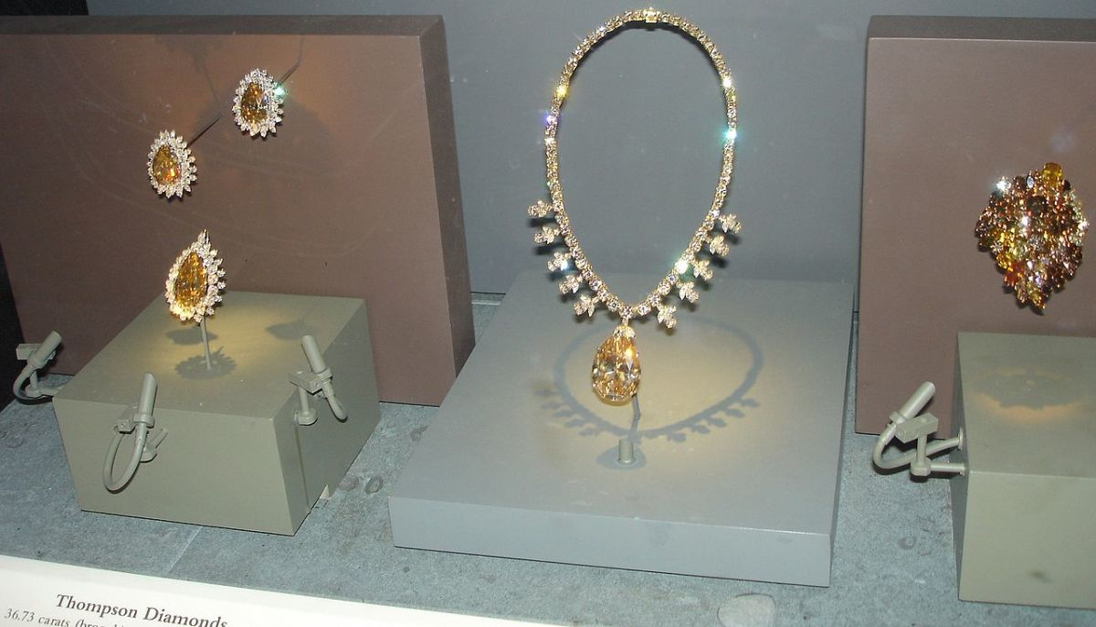 National Museum of Natural History: Diamonds in shades of Brown. Darker brown diamonds are also called chocolate diamonds.
