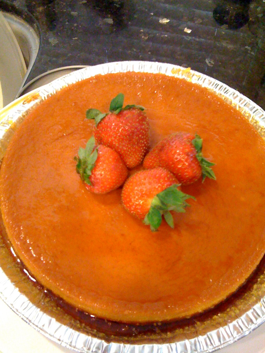 Easy Cuban Flan Recipe