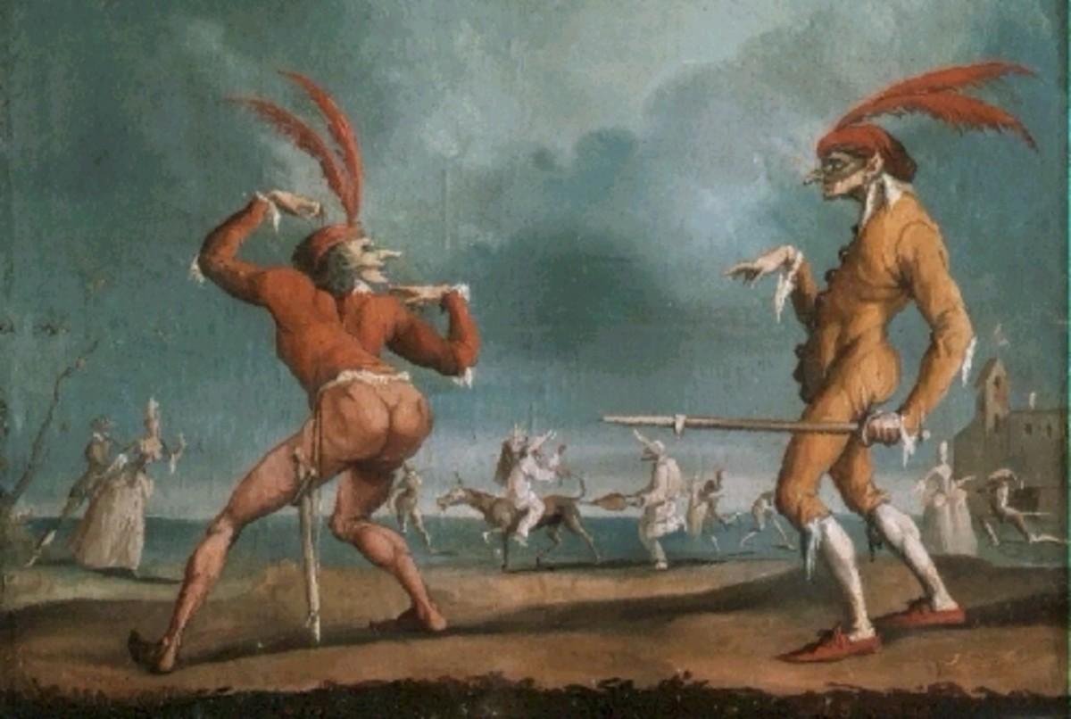 Commedia dell'Arte - SNL in the Italian Renaissance