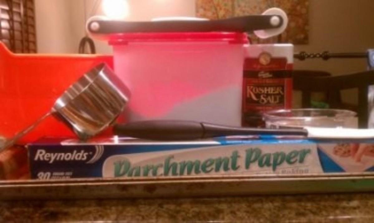 Handprint Keepsake Ingredients and Tools