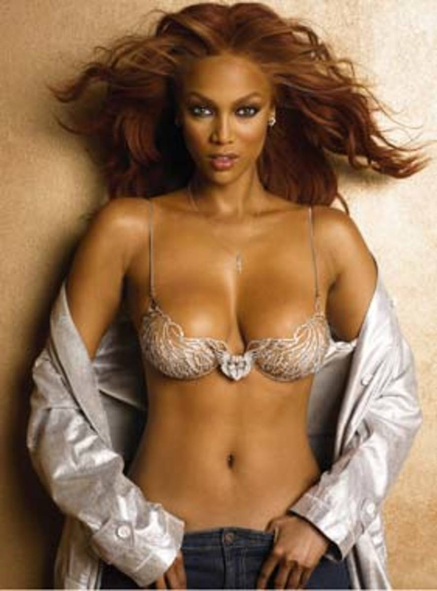 Tyra Banks and the Heavenly '70' Bra