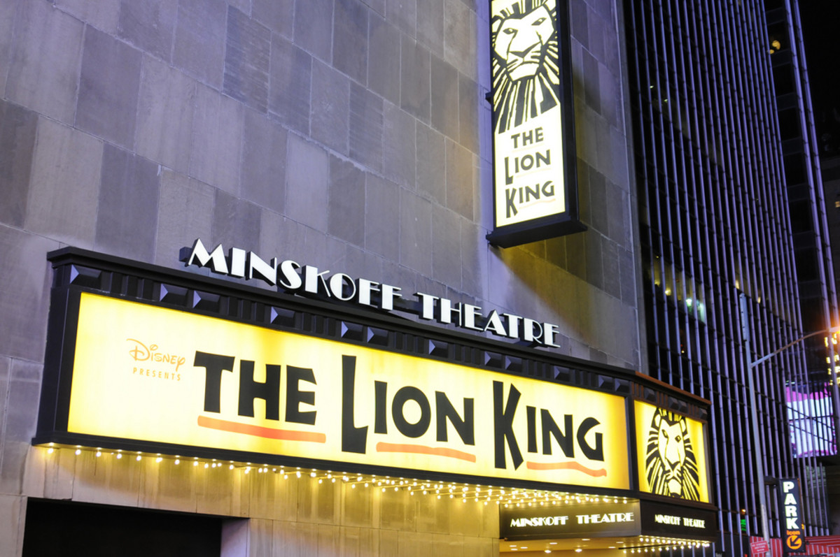 Lion King at the Minskoff Theatre on Broadway