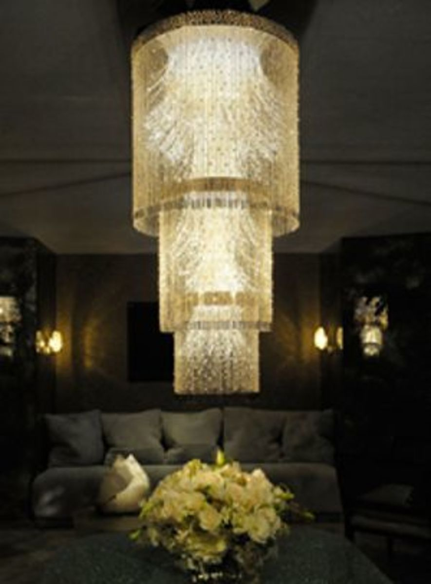 Diamond Anniversary Chandelier