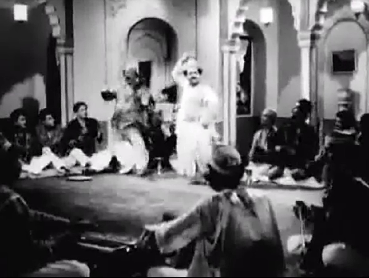 Another of the earliest great qawwalis of Bollywood
