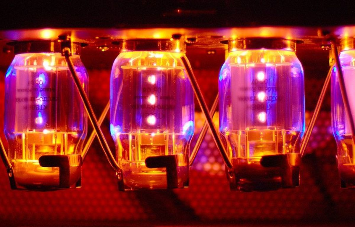Amplifier valves can be a thing of beauty.