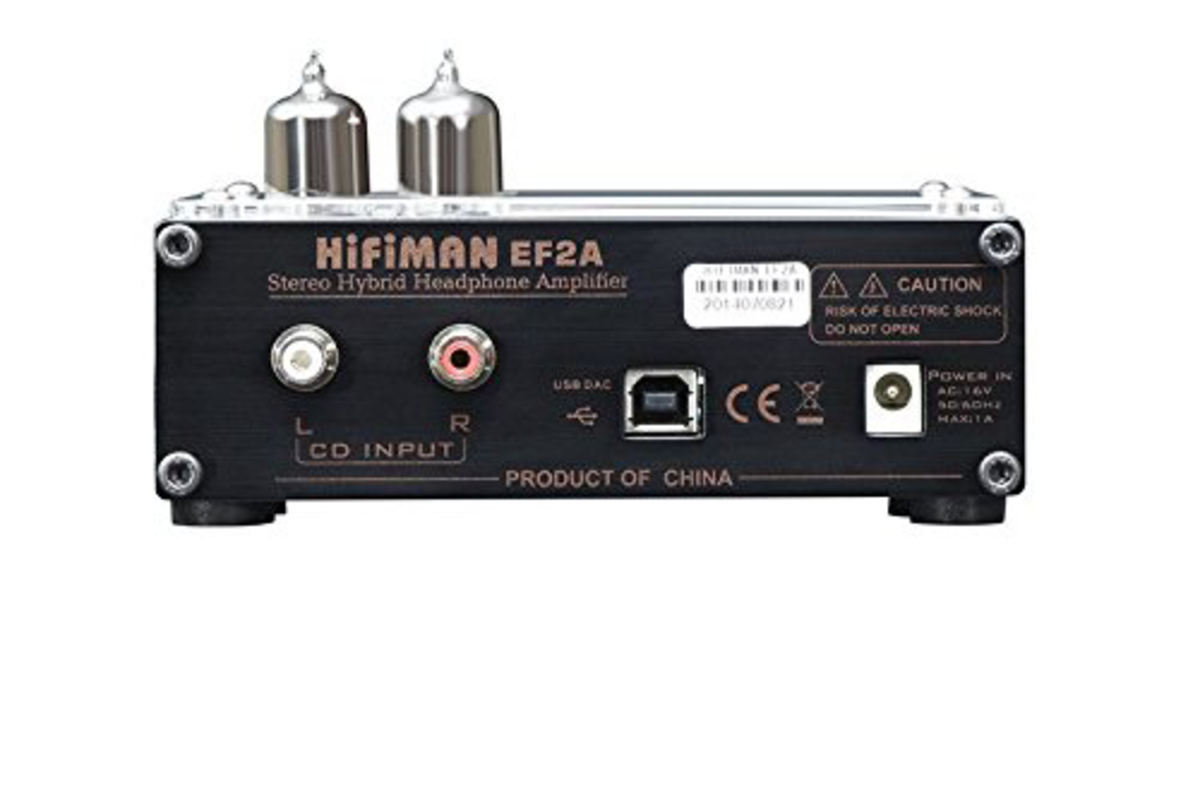 Back end of the HIFIMAN USB DAC