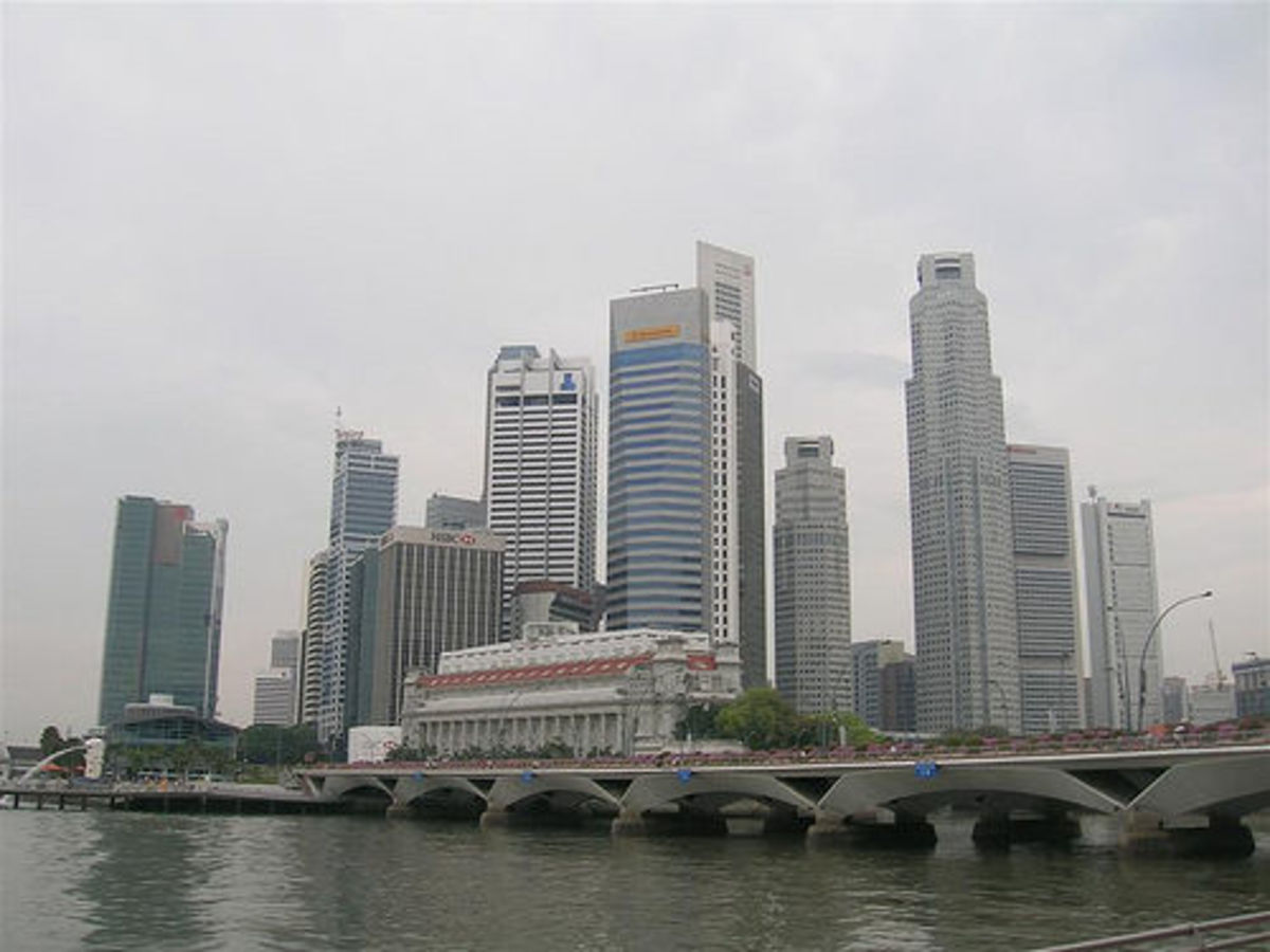 Singapore is both a city and a state.