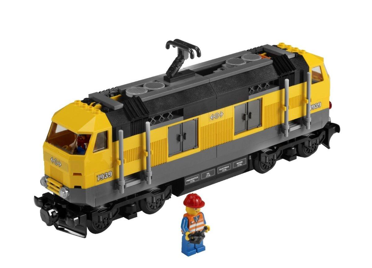 Lego European-Style Freight Train