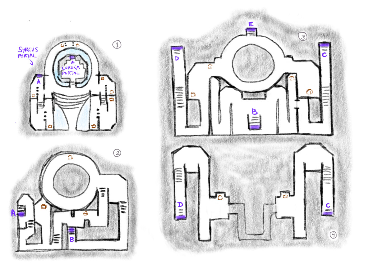 FFIII Crystal Tower Floors 1-4