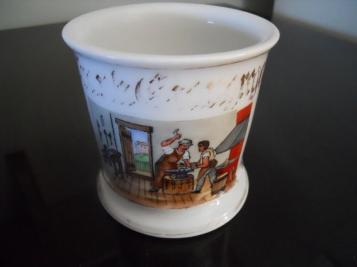 Front of grandpa's mug