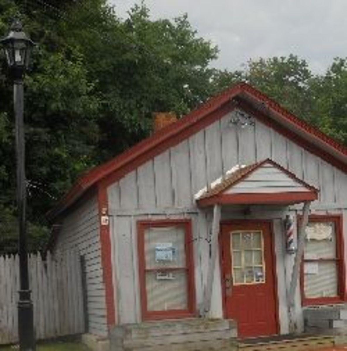 Barbershop, Voluntown, Connecticut