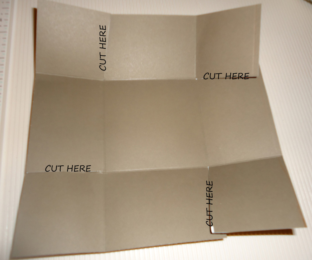 where to cut - top and bottom