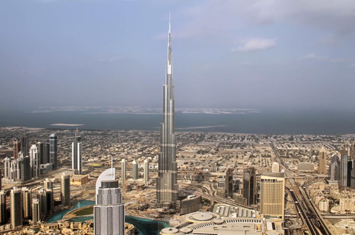 Towering Burj Khalifa