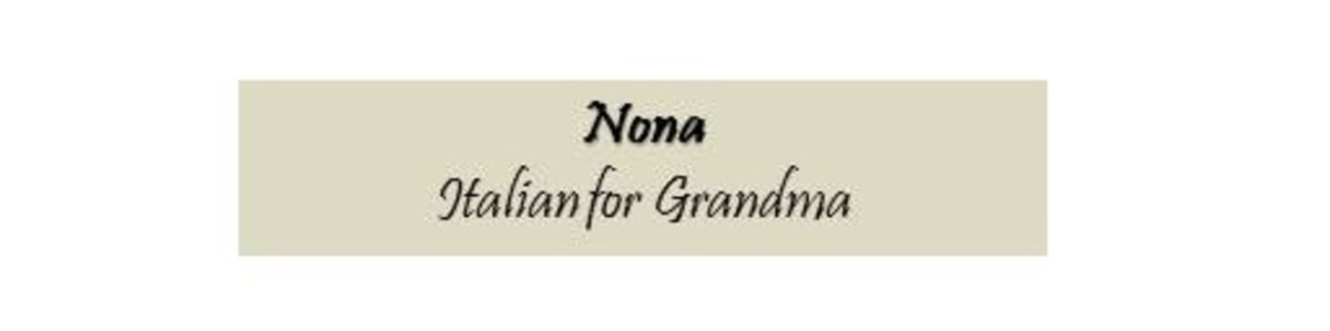 Below is a poem, my Nona's story, and the benefits of knowing an older generation.