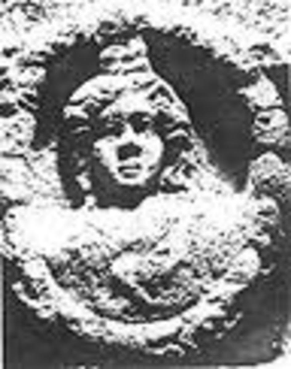A stone carved portrait of the Diocletian's daughter and only child, Valerija.  The portrait shows her strong character and beauty.