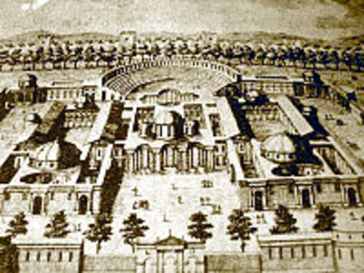 The Diocletian's Palace in Nicomedia (Nikomedija) which was located in modern-day Turkey.