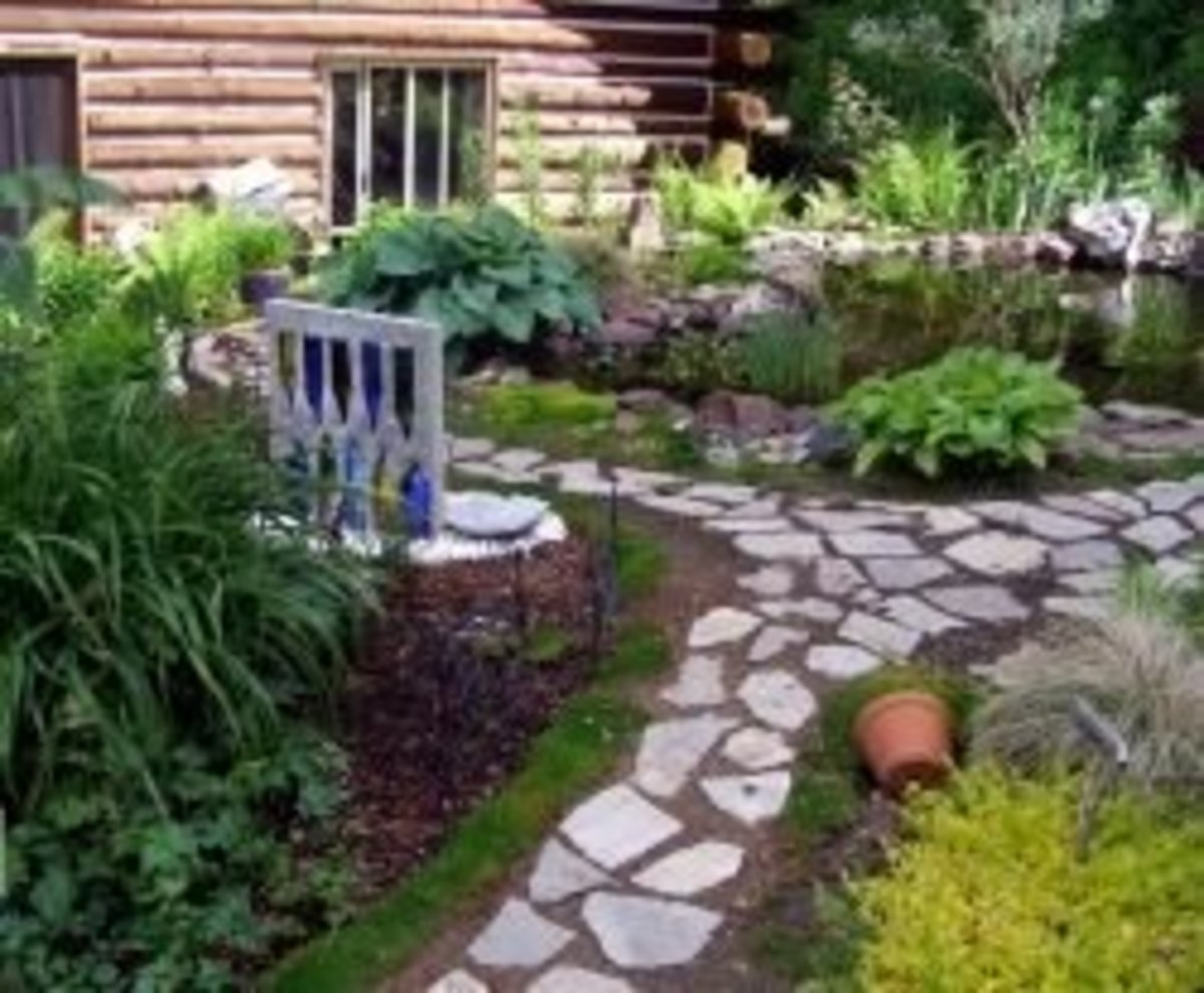 How to Build Creative Garden Pathways
