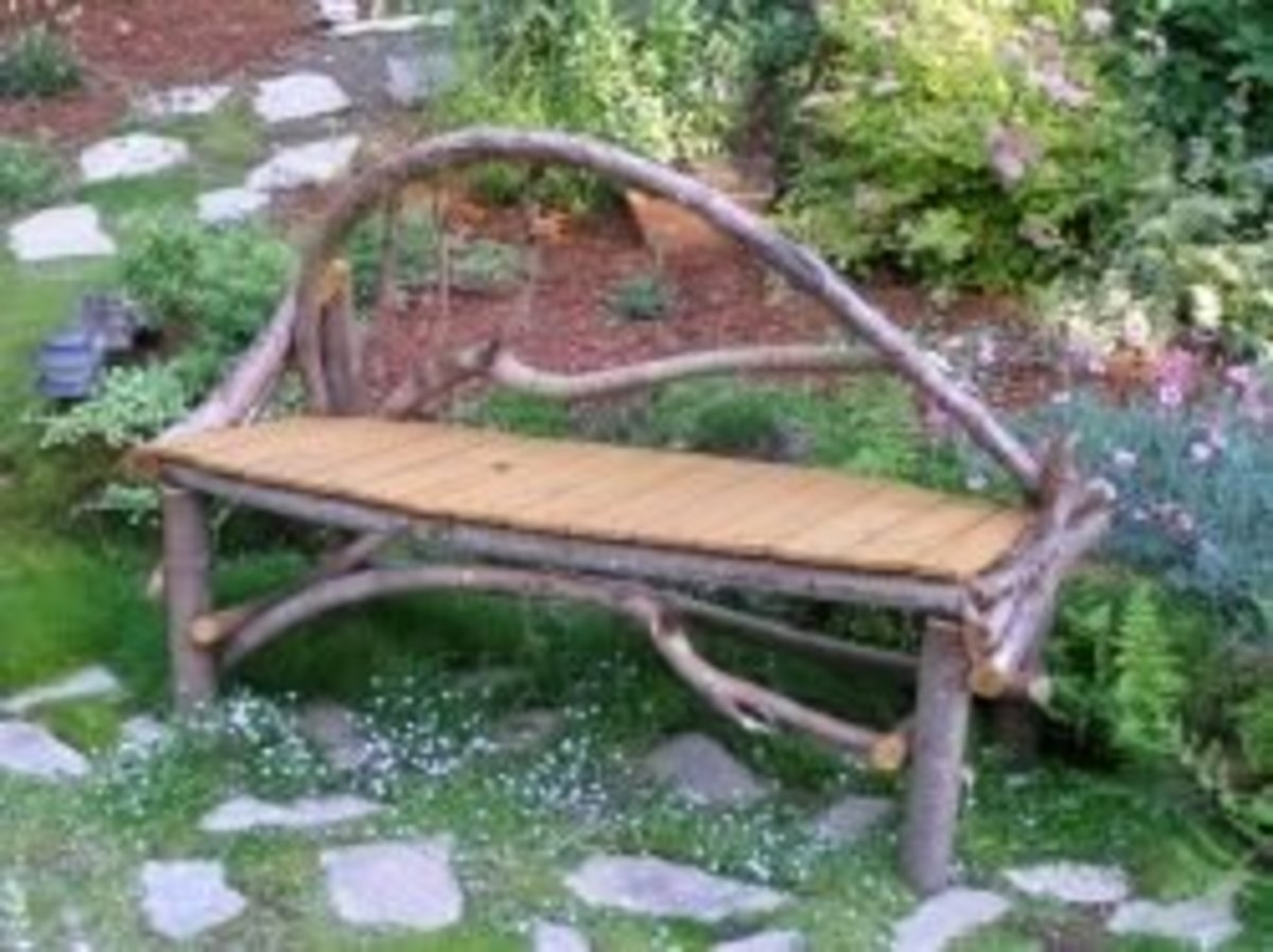 How to Build a Twig Bench