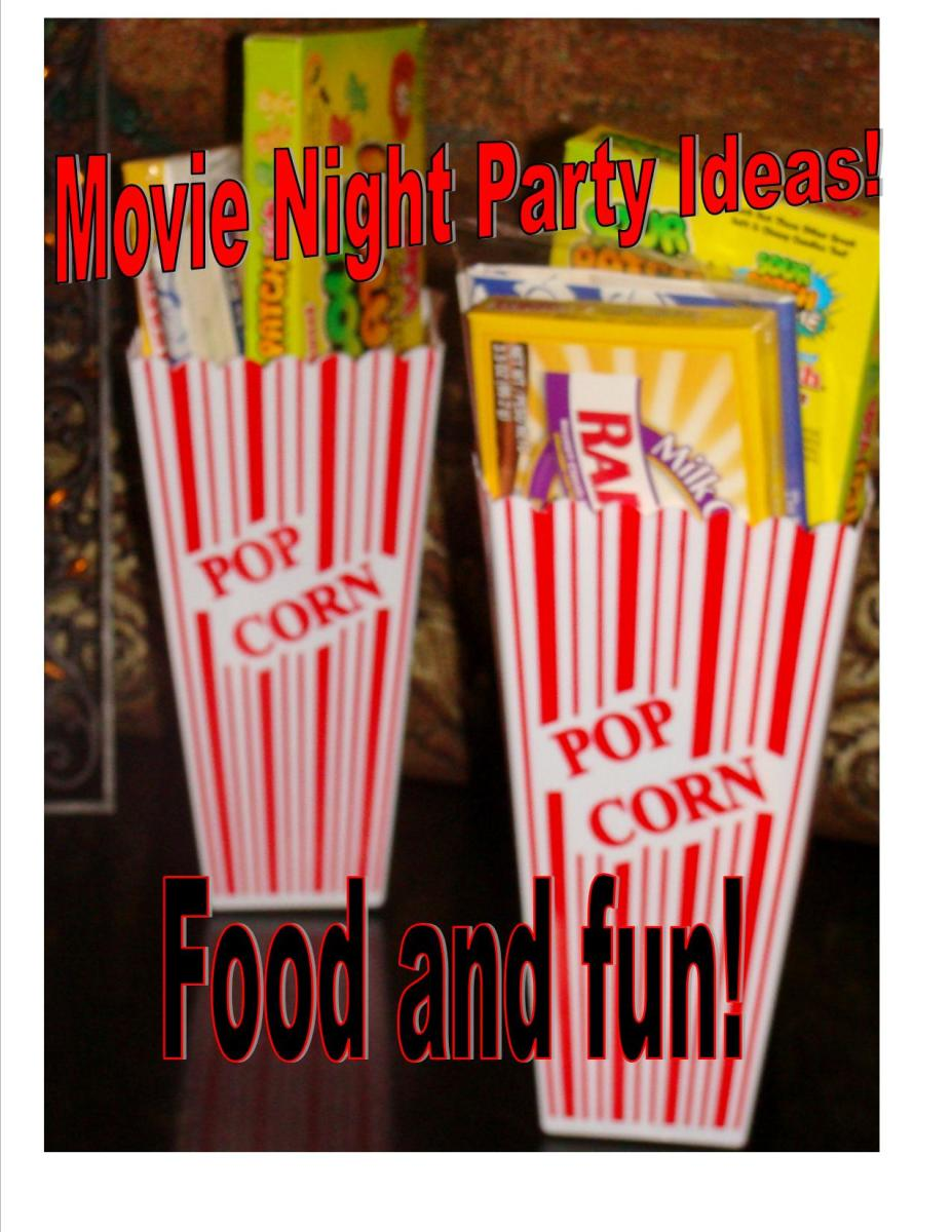 Movie Themed Birthday Party Ideas for Kids
