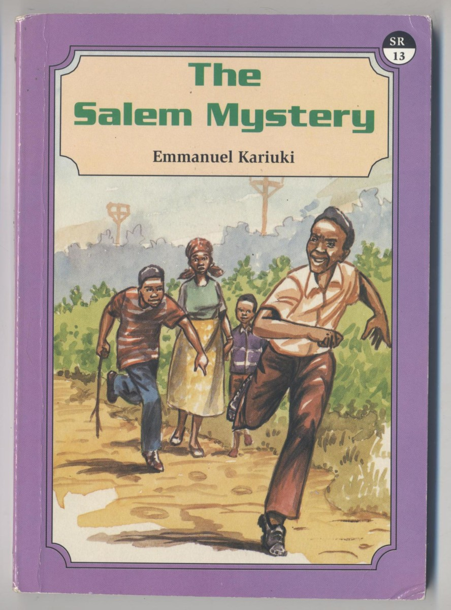 The Salem Mystery - a novel for young adults