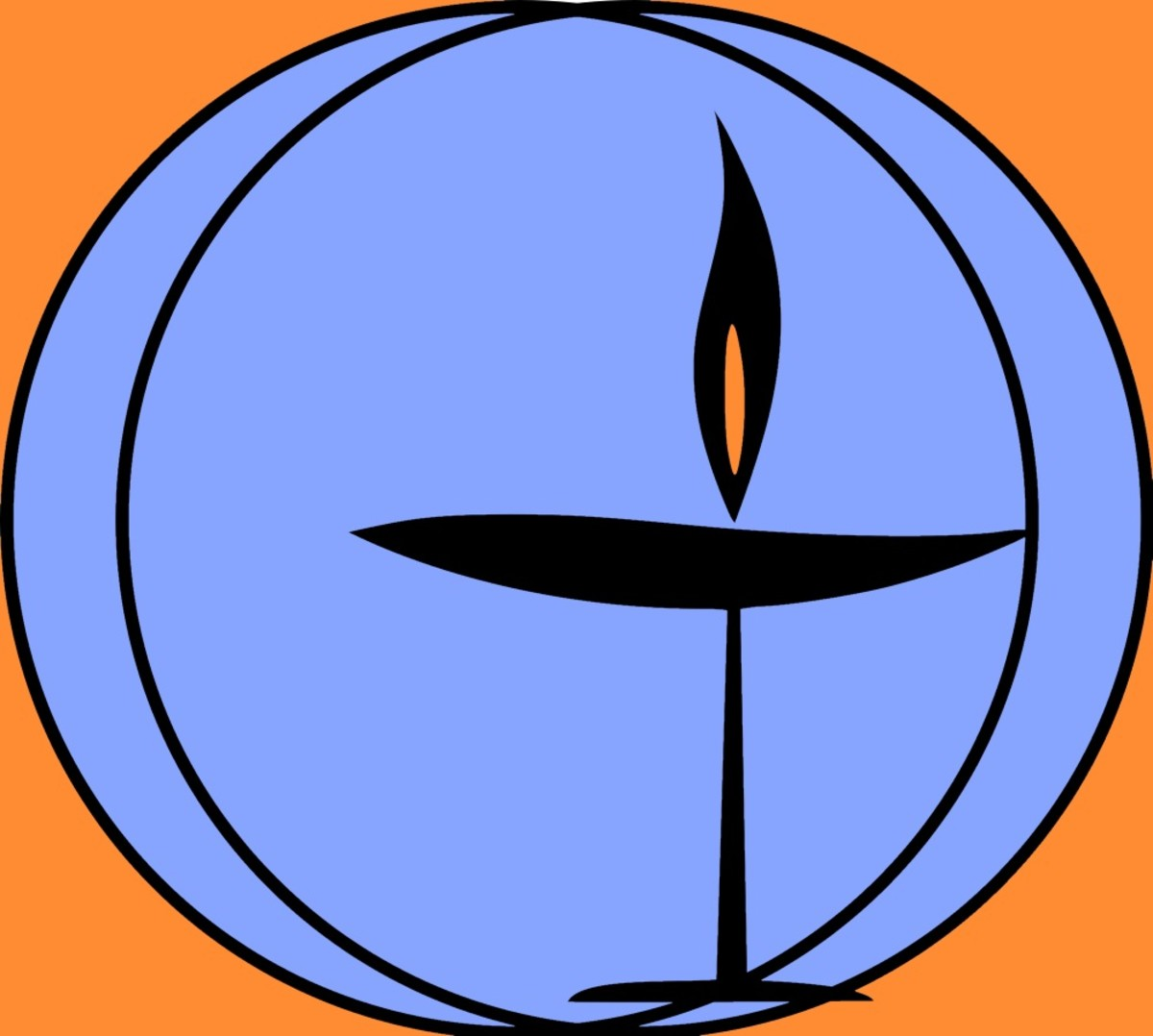 Flaming Chalice - UU Symbol