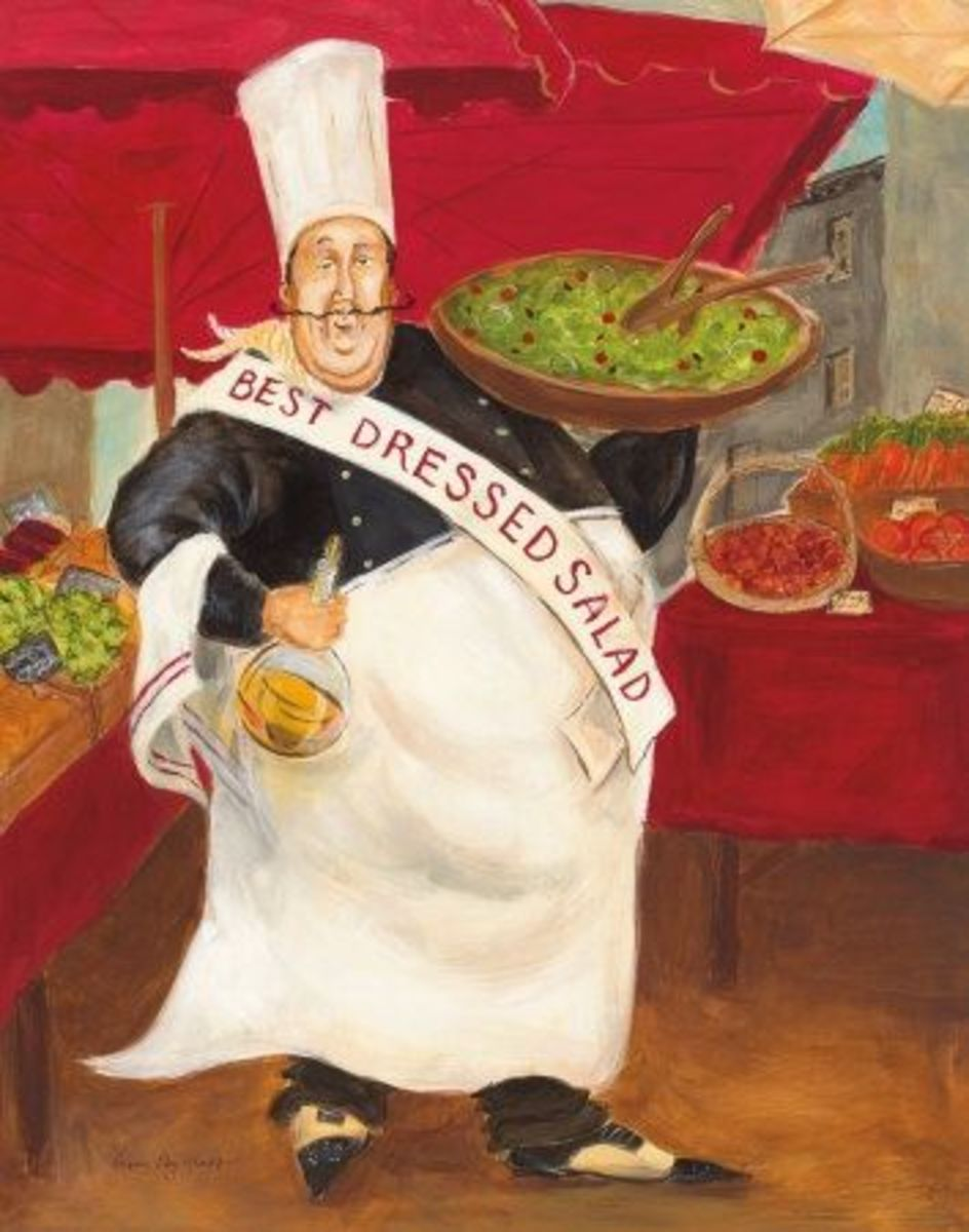 Best Dressed Salad Poster