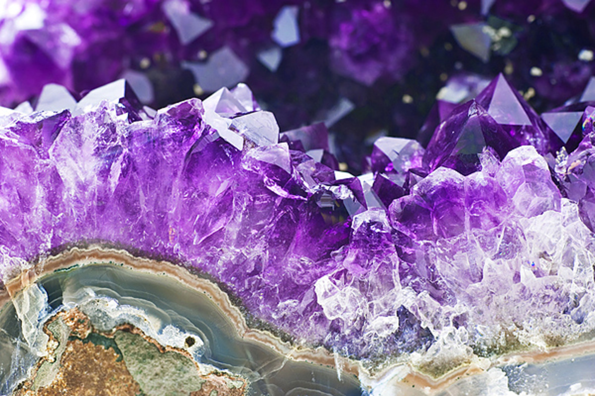Beautiful geodes can create very positive energy.