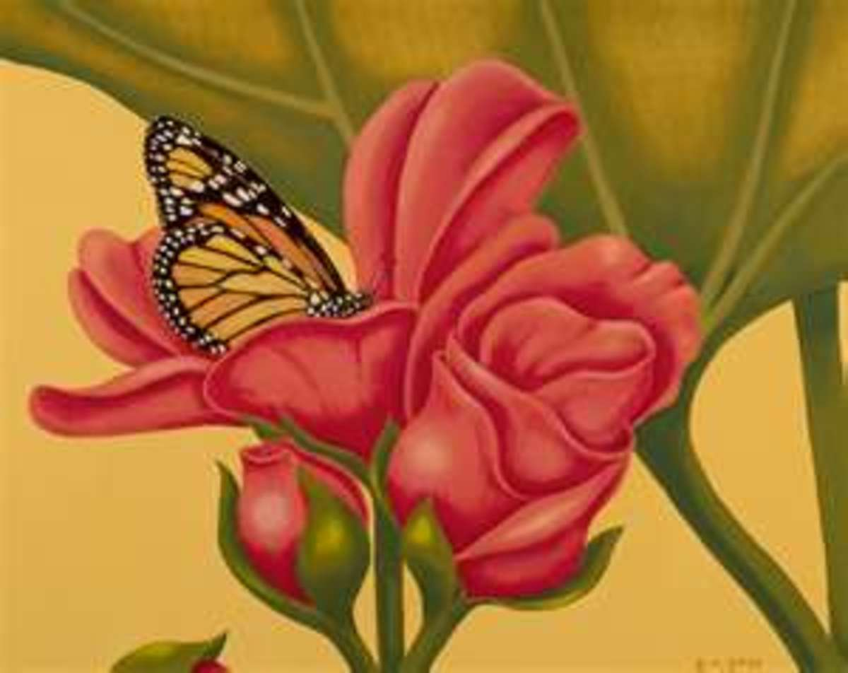 Image credit: http://robertrossfineart.com/portfolio/monarch-at-rest/