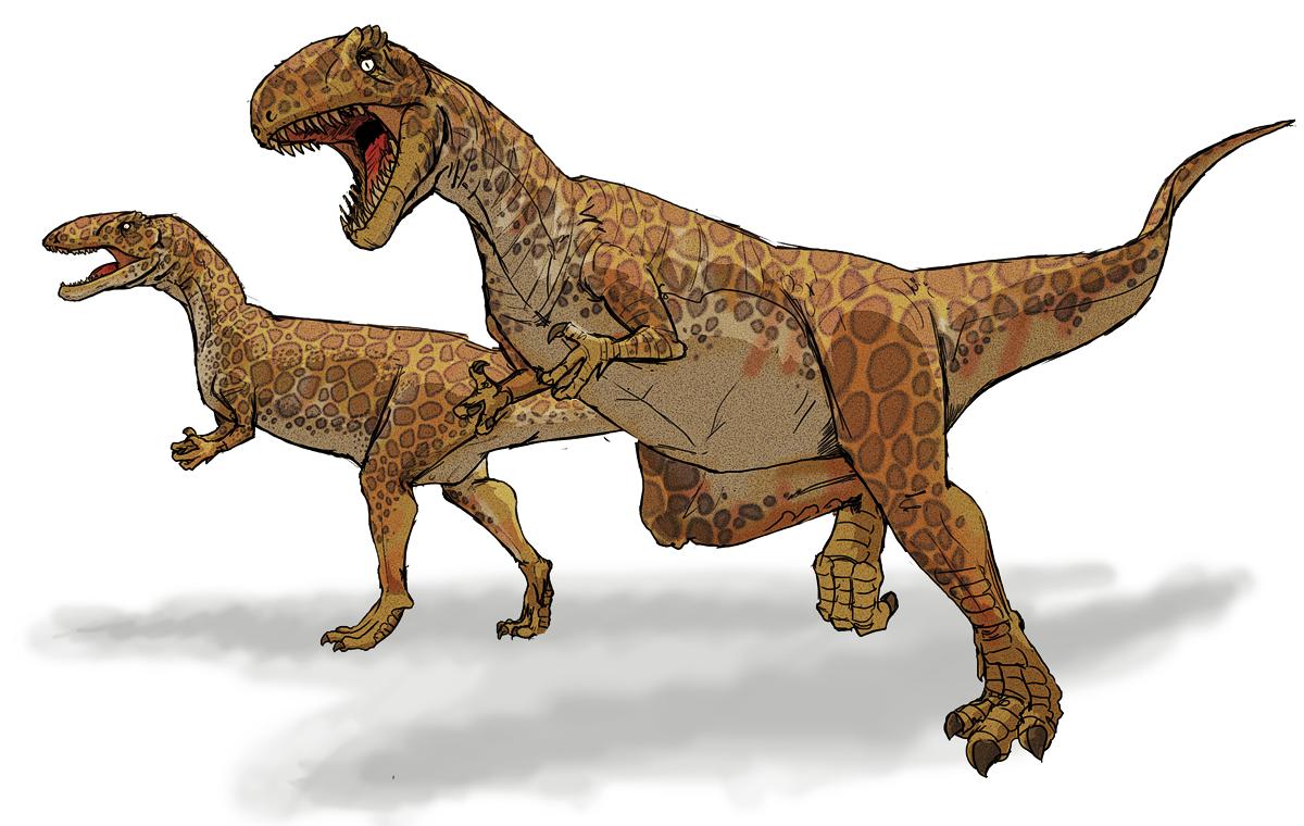 Megalosaurus - meat eater
