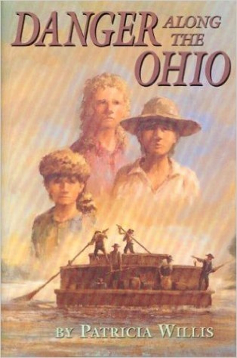 Danger Along the Ohio by Patricia Willis - Image credit: amazon.com