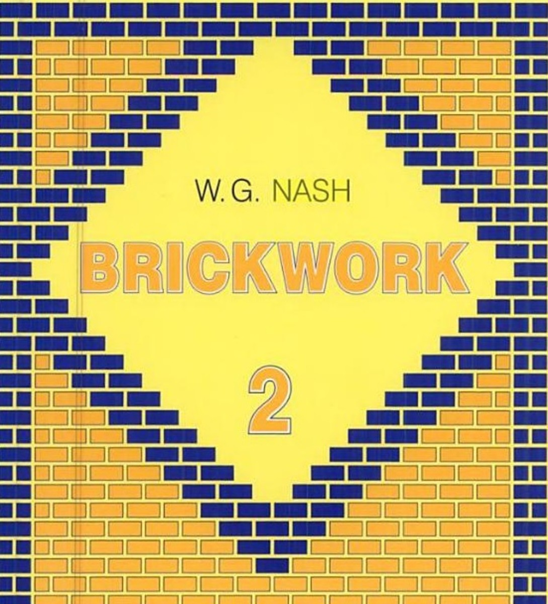 Brickwork. , Volume 2. Front Cover · William George Nash 1938