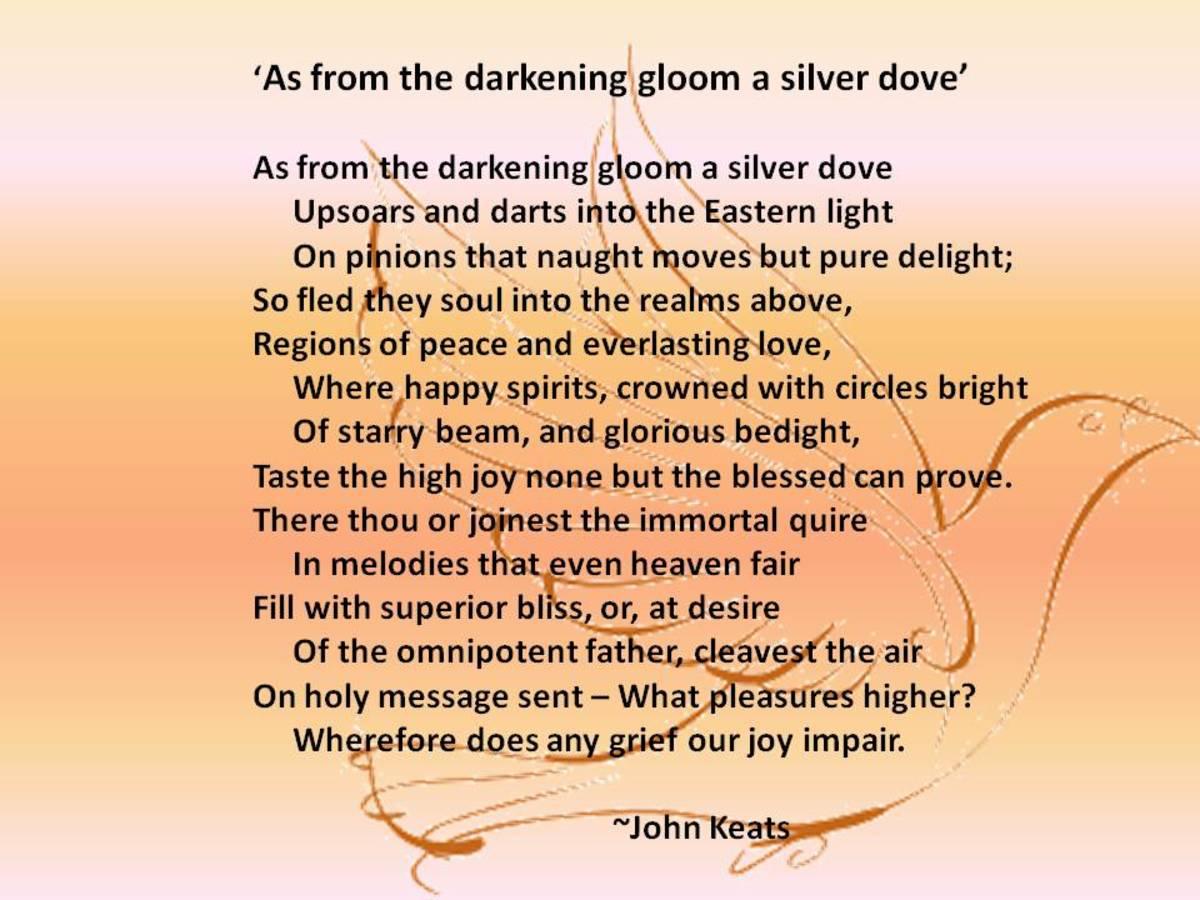 John Keats World Literature Analysis - Essay