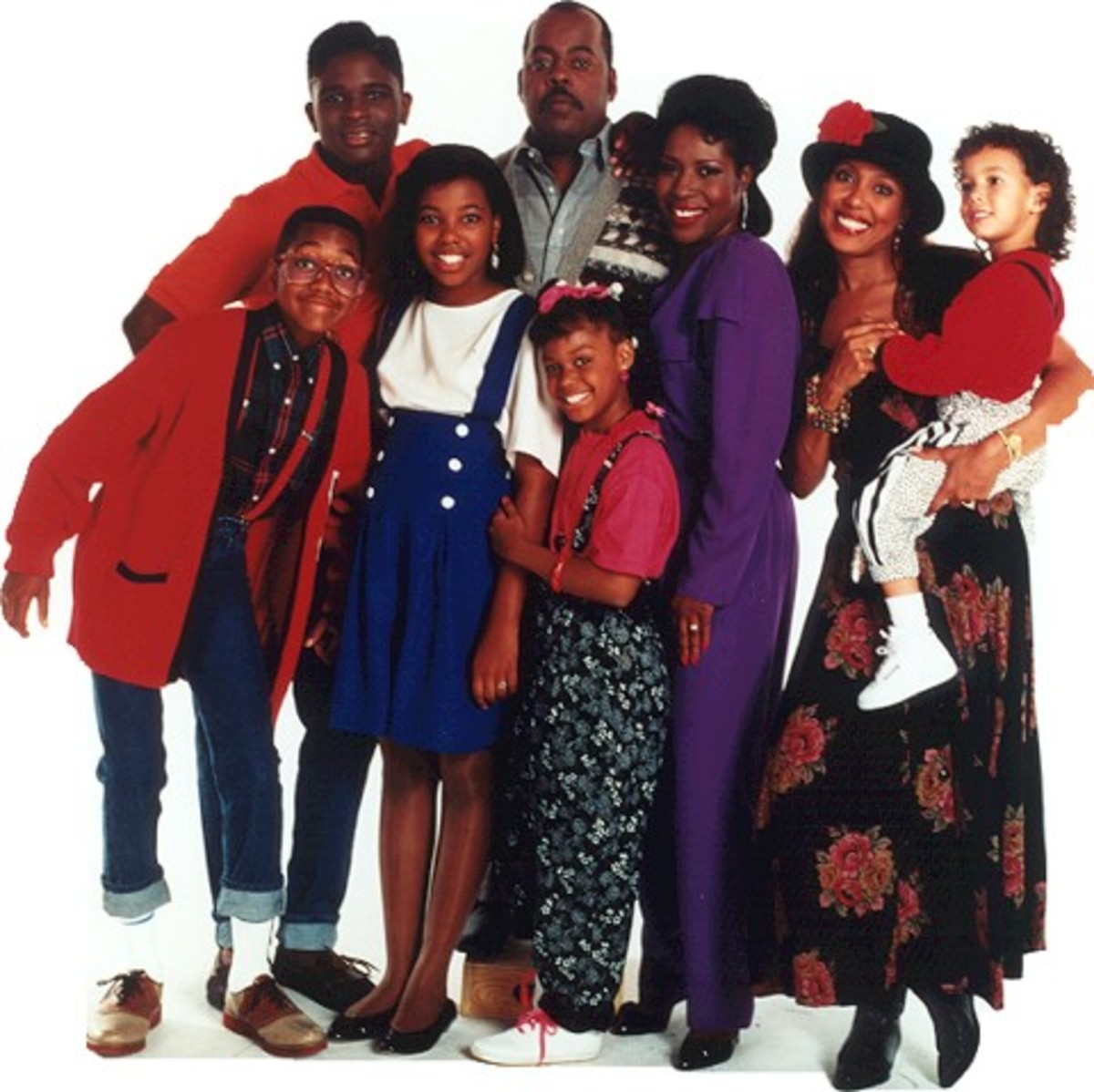 A photo of the Family Matters cast together
