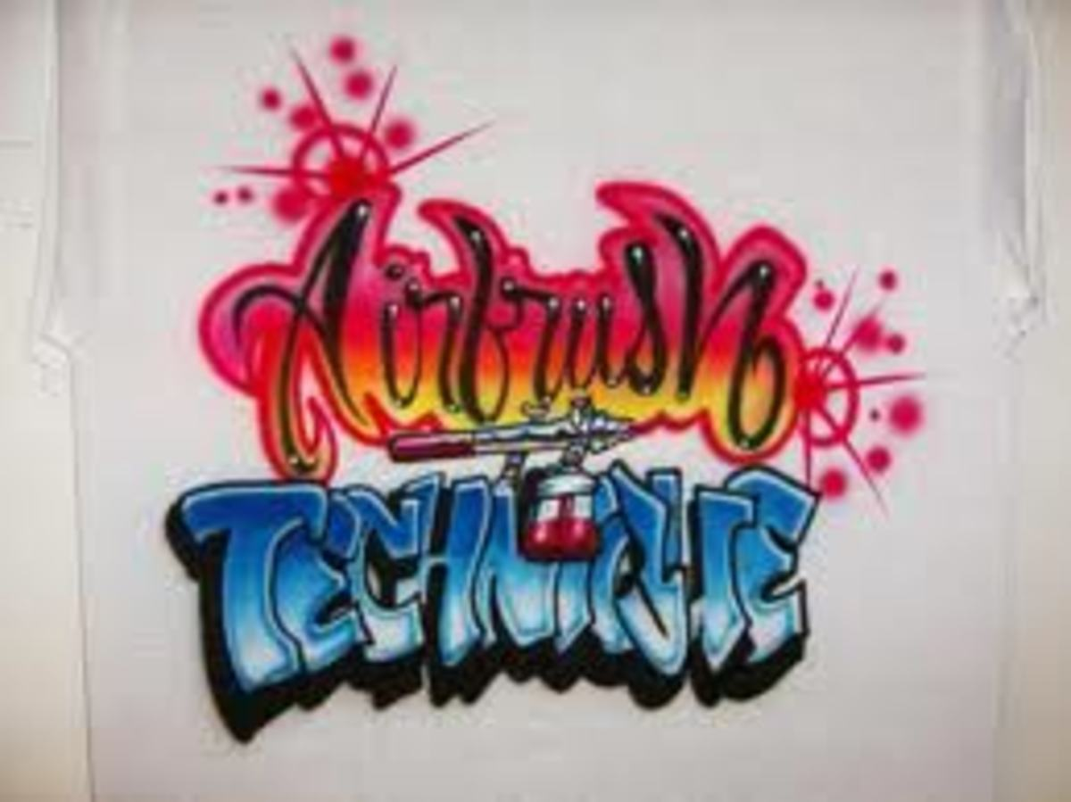 Airbrush Clothes in the 80s