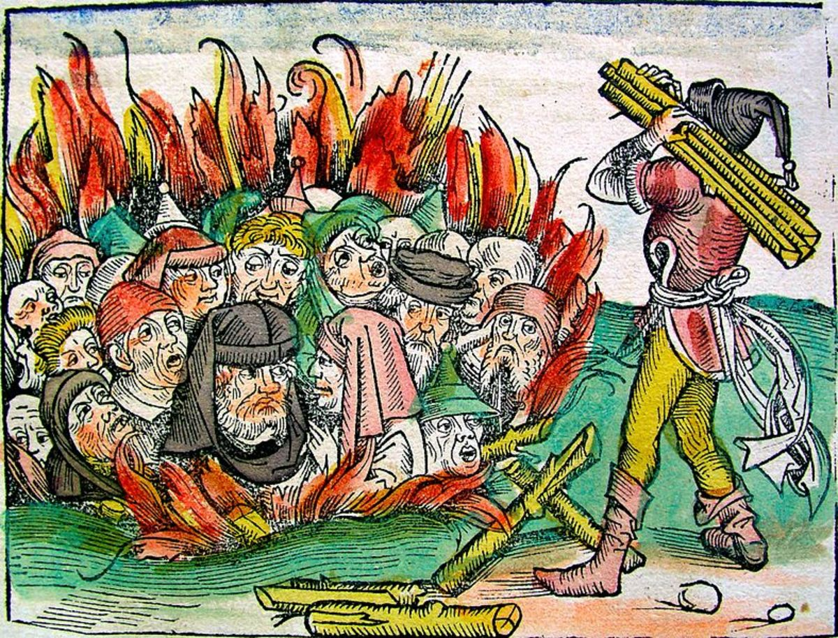 The persecution of Jews during the Black Death happened across mainland Europe