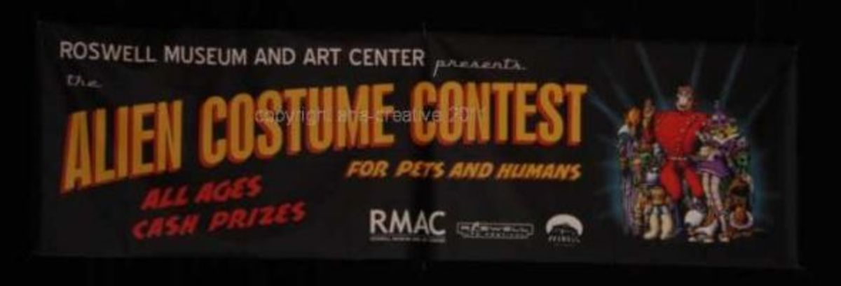 Roswell Alien Costume Contest