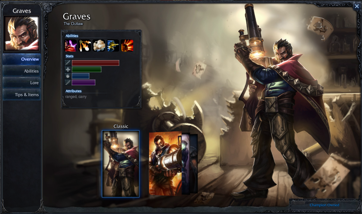 10 Must Own Champions League of Legends