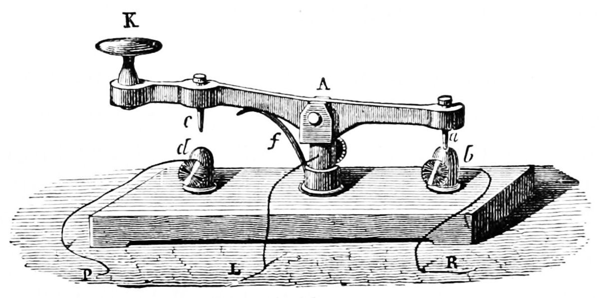 How to Make a Morse Telegraph Key
