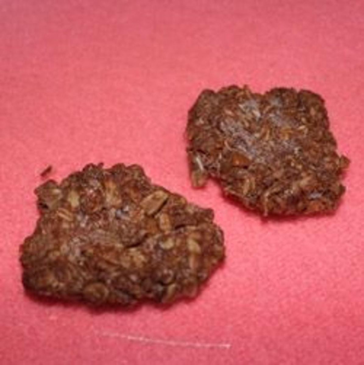 Chocolate, Oatmeal Sugar-free Cookies