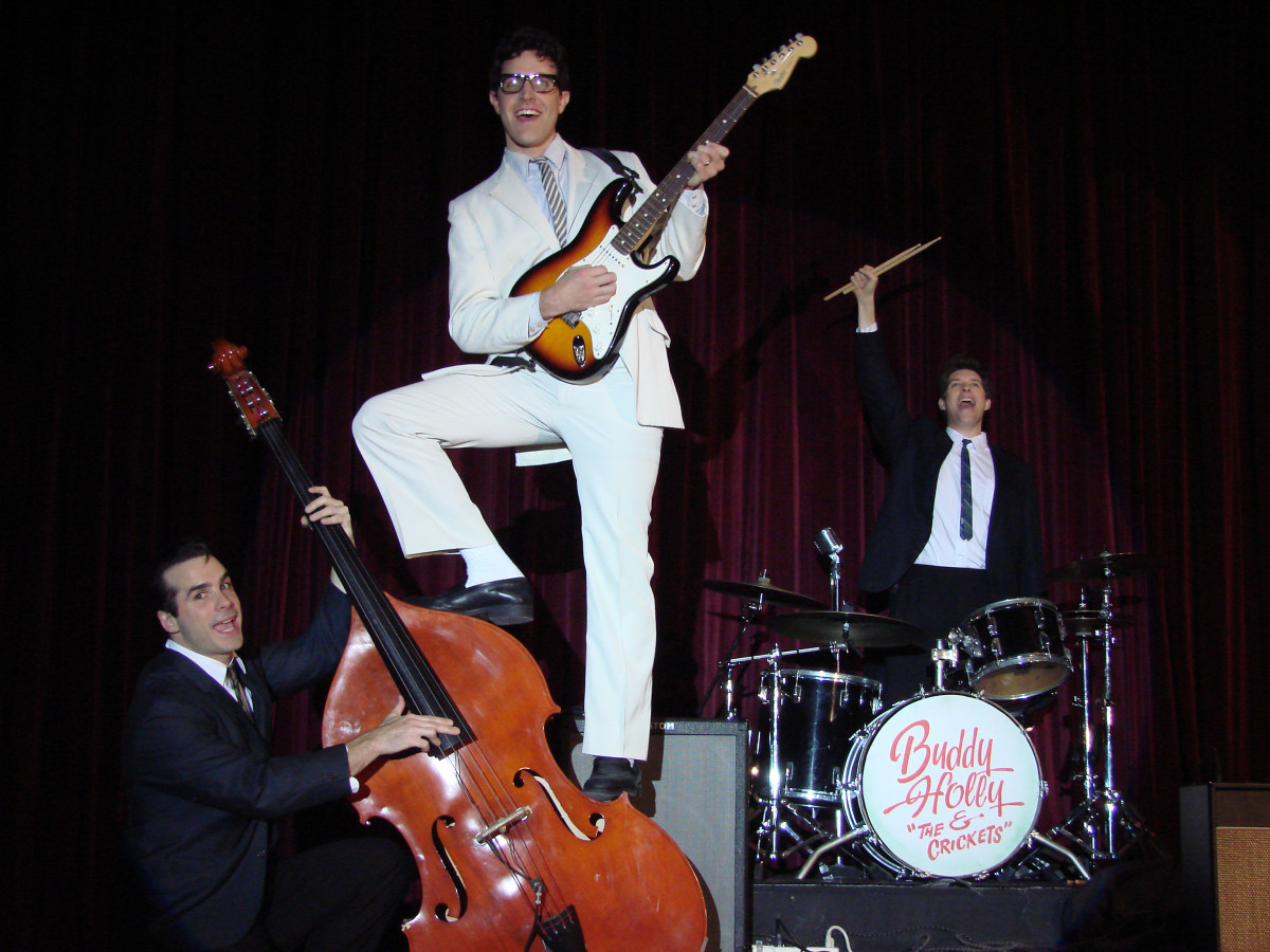 Pacific Repertory Theatre's award-winning production of Buddy - The Buddy Holly Story, at the Golden Bough Playhouse, Carmel, CA, 2009