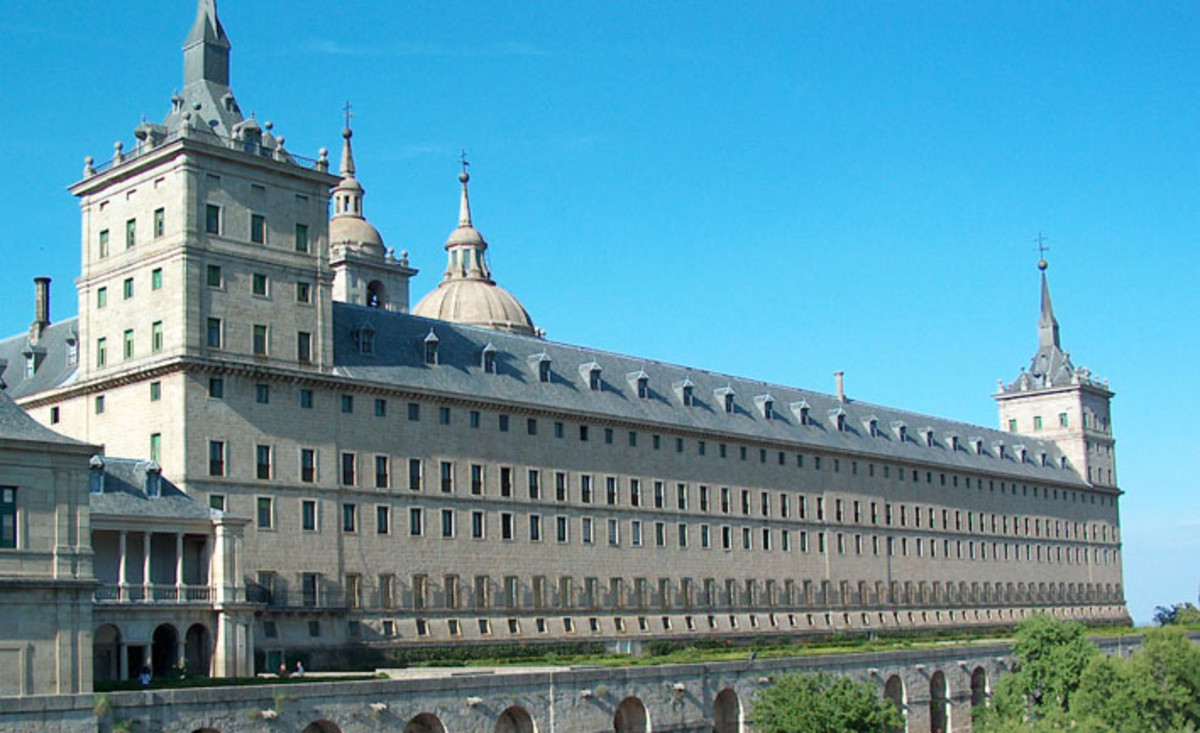 El Escorial, Spain. Mannerism style and adherence to the classical art of Rome