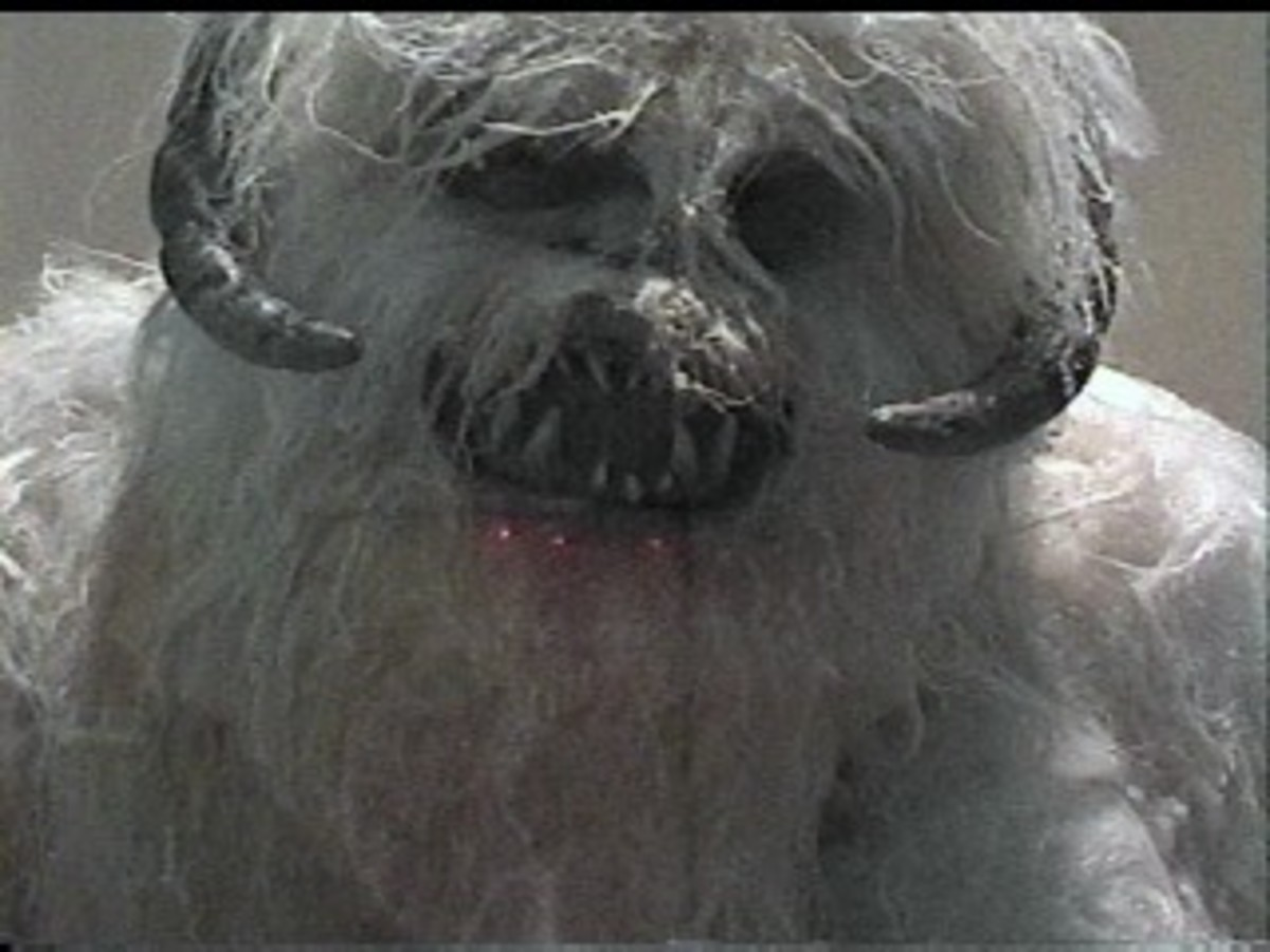 The Wampa from Starwars