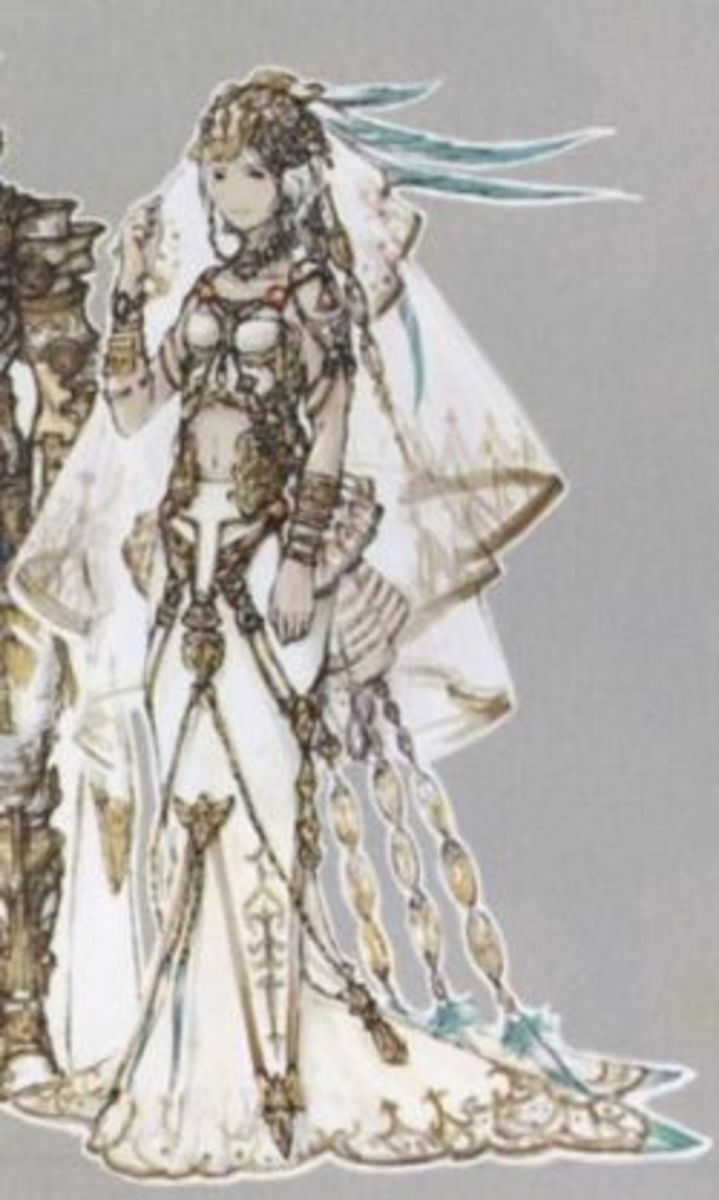 Ashe's Wedding Gown Final Fantasy XII
