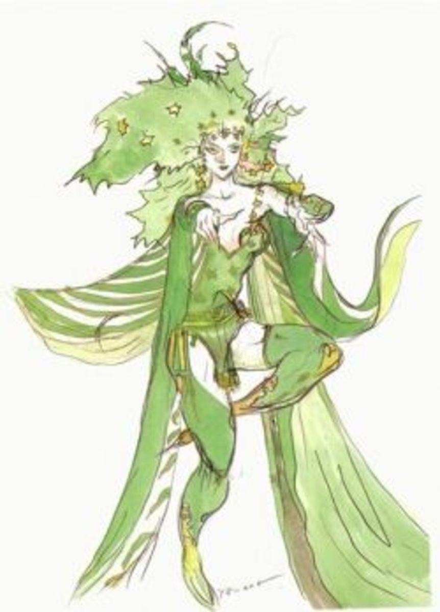 Rydia Final Fantasy IV